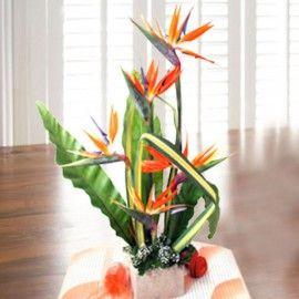 5 Bird of paradize Table arrangement