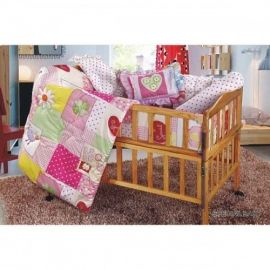 Baby Bedding Set (Pink)