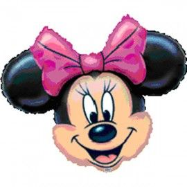 Add On Minnie Mouse Helium Balloon (Head Only)