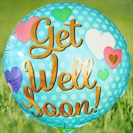 """Add-On Get Well Soon 9"""" Balloon"""