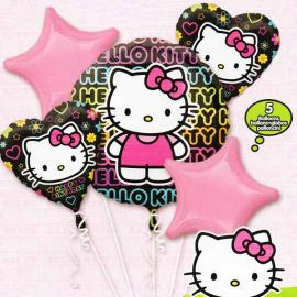 Add On Hello Kitty Balloon Bouquet (5pcs)