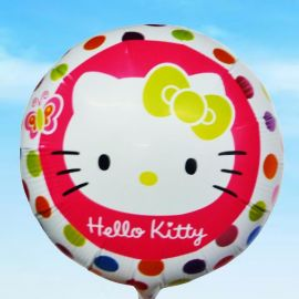 Add On Hello Kitty (Round)
