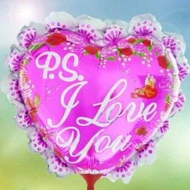 Add On I Love You Pink (Heart-Shaped)