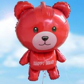 Add On Happy Bear Balloon