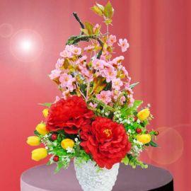Fortune Peonies Flowers Arrangement