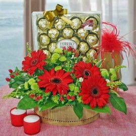 Mom's Choco Joy Basket