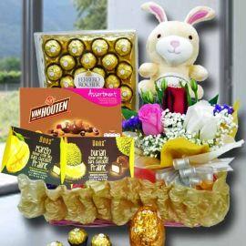 Easter Honey Chox Deluxe Gift Basket