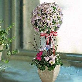 Fresh Flowers Topiary Delivery