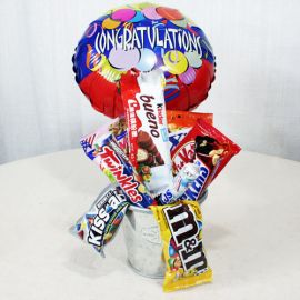 Assorted Sweets / Chocolates with Congratulations Balloon