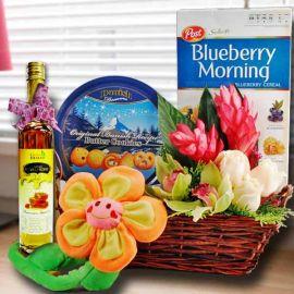 Honey & Flowers Gifts Basket