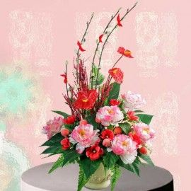 Lunar New Year Artificial Flowers Delivery
