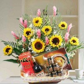 Sunflowers, Chicken Essence & Yomeishu
