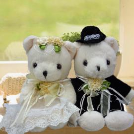 Add-on 8 Inches Wedding Bears