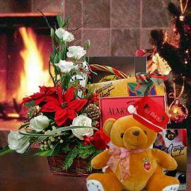 Christmas Hamper & Gift Basket XM118
