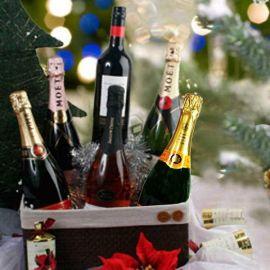 Christmas Gift Basket XMW01
