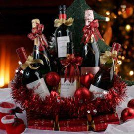Christmas Gift Basket Delivery XMW04